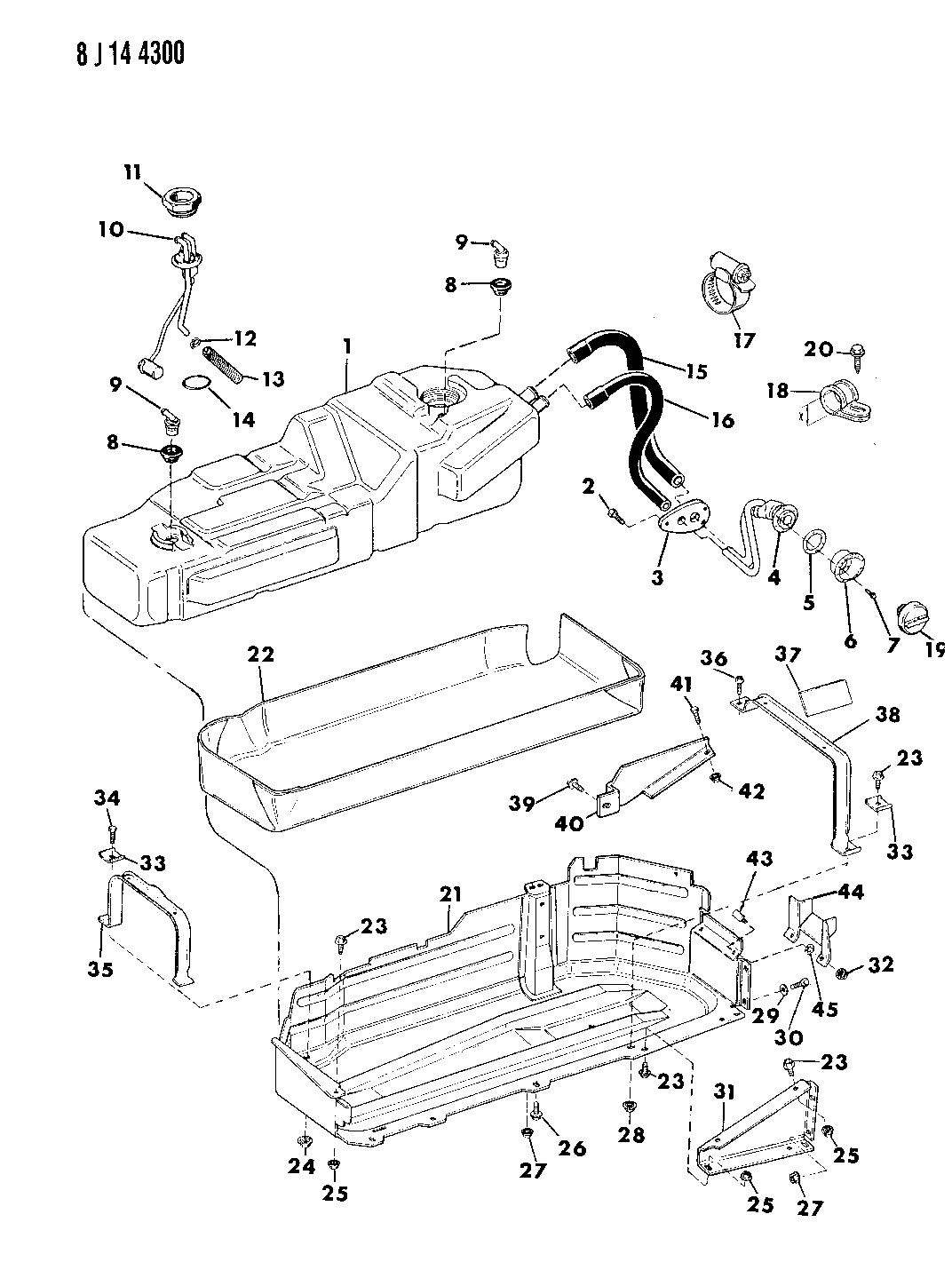 Jeep Fuel Tank Diagram