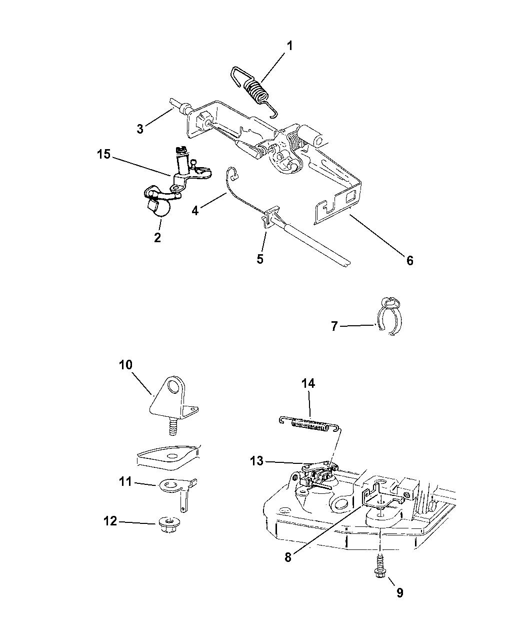 Genuine Mopar CABLE-THROTTLE VALVE