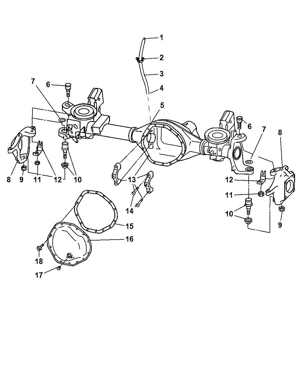 2004 dodge ram 2500 steering parts diagram