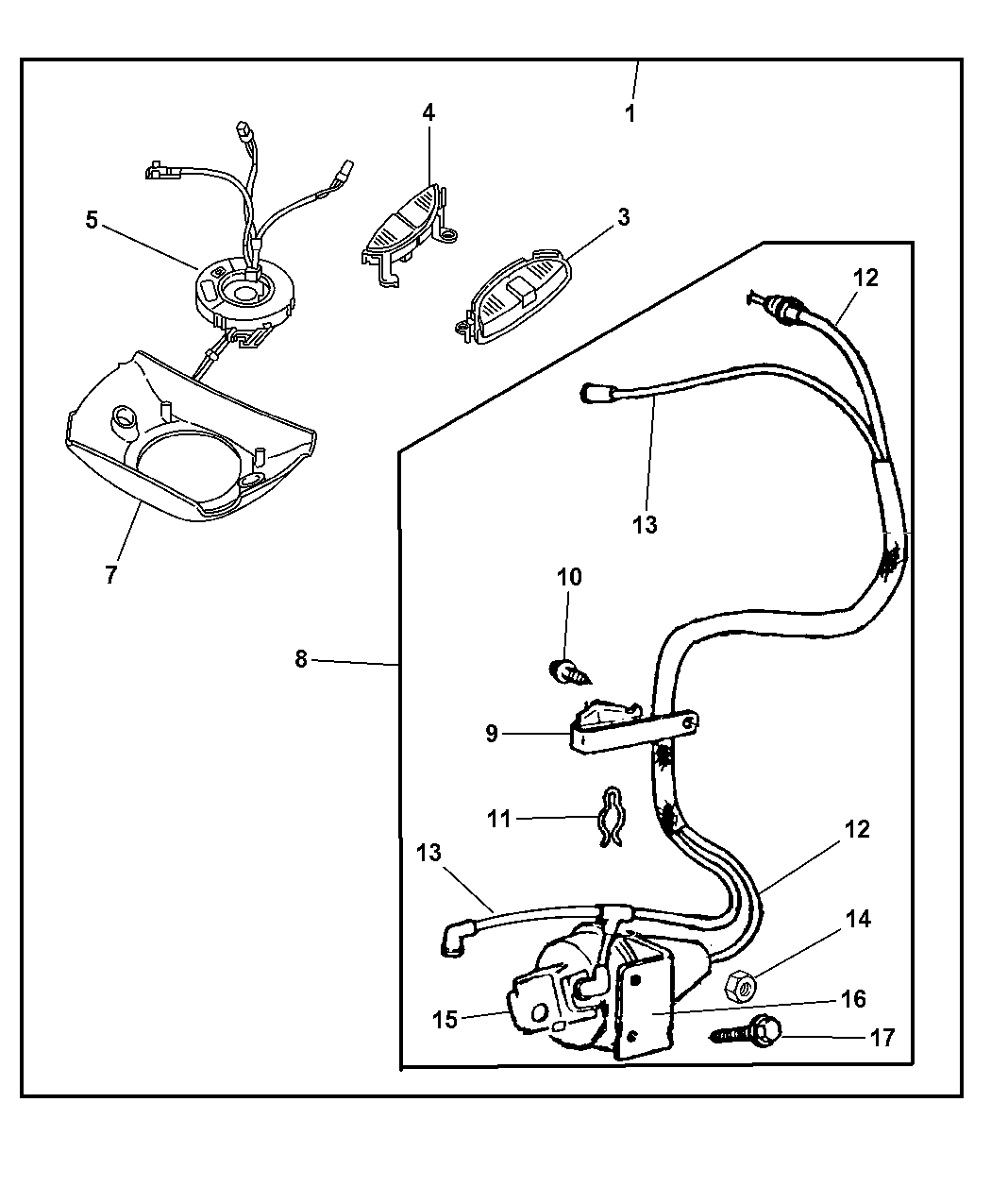 2002 Dodge Ram Van Control Package - Speed
