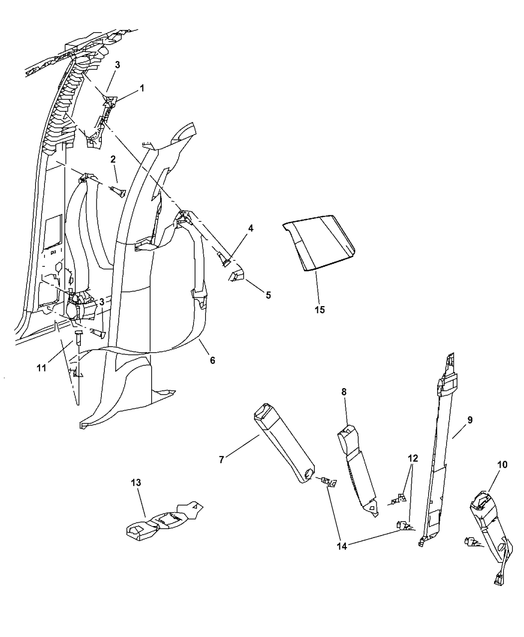 Rigid Seat Belt Extender for 2001 Pontiac Sunfire Front Seats E4 Safe