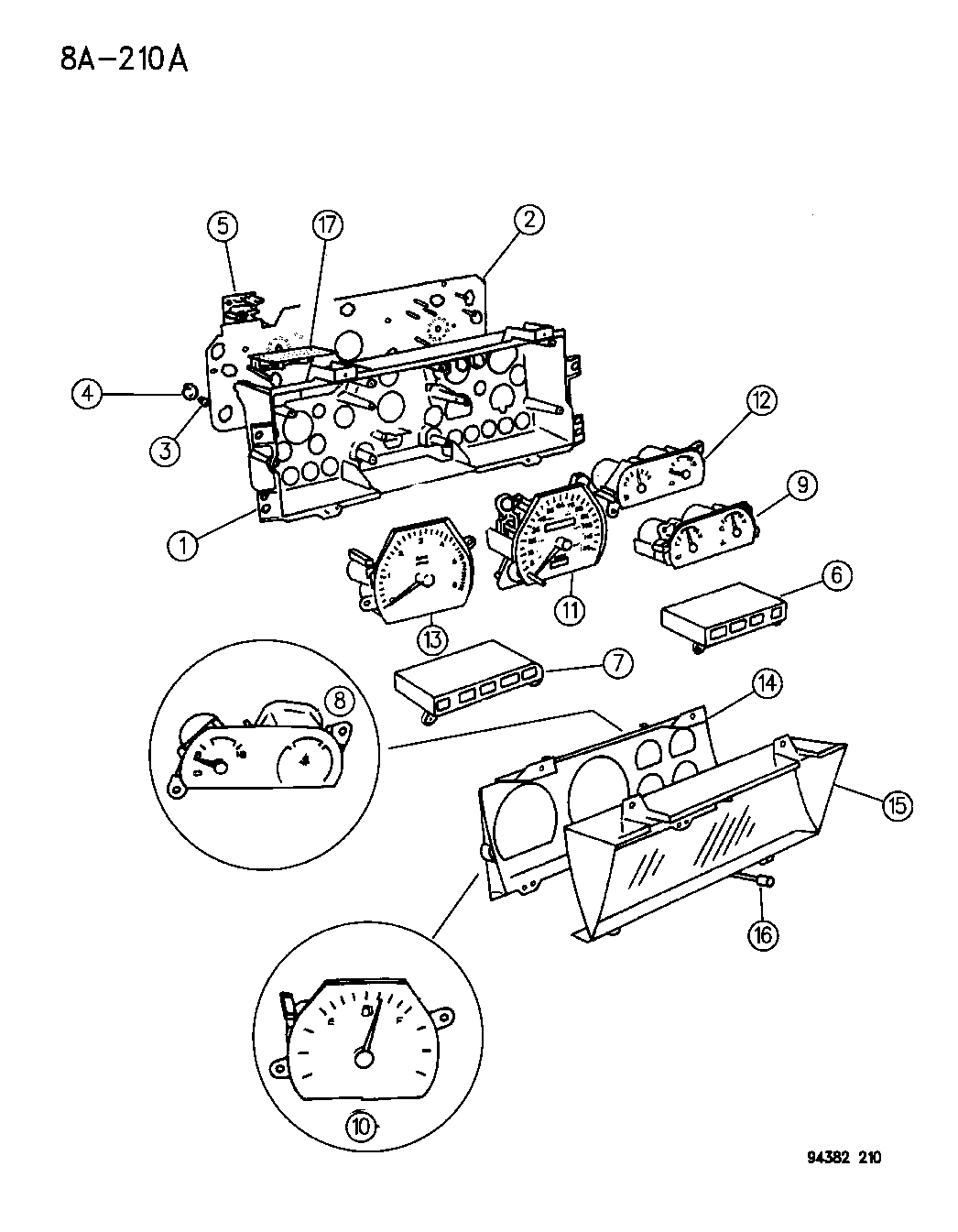 Wiring Diagram For 1995 Dodge Ram 2500 Instrument Cluster from www.moparpartsgiant.com