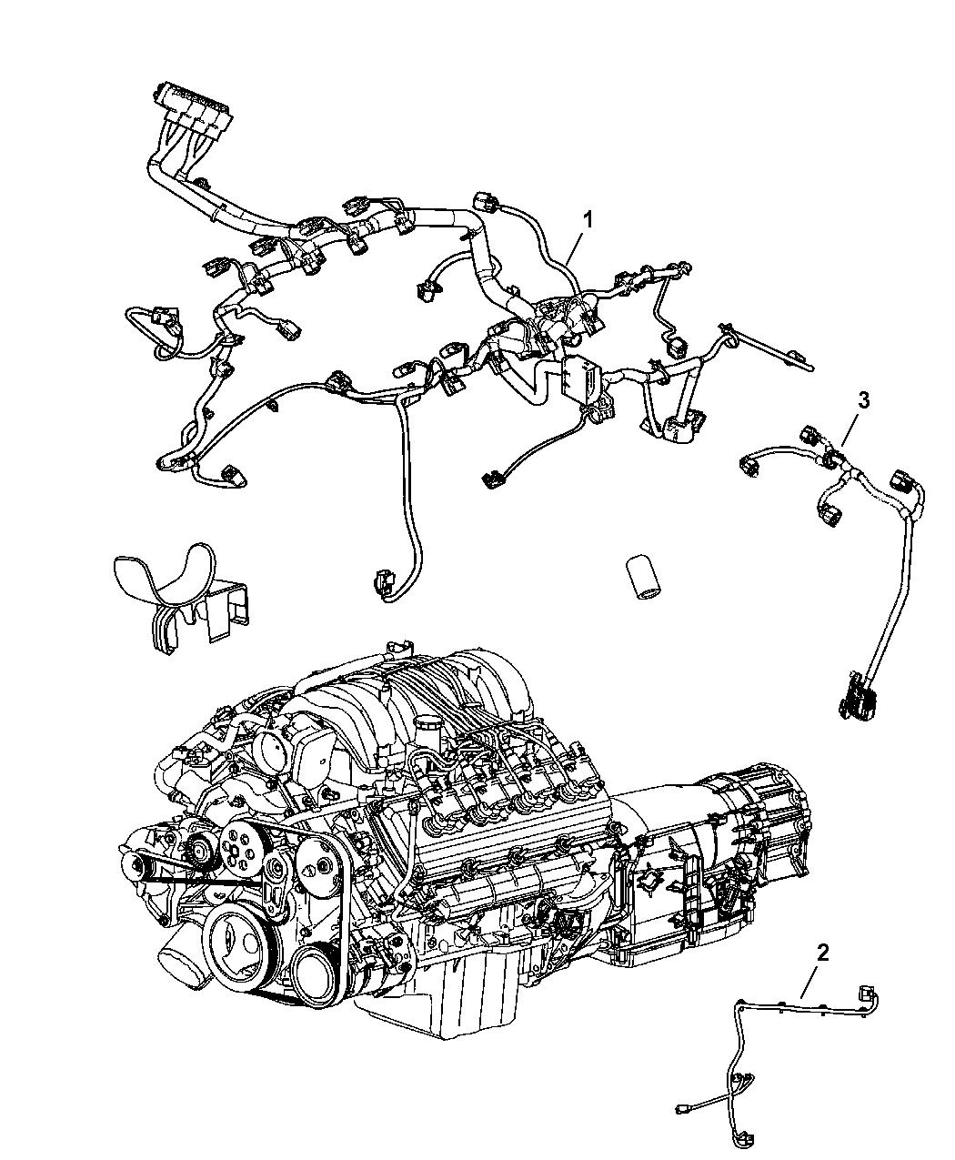 2008 Jeep Grand Cherokee Wiring - Engine - Thumbnail 2