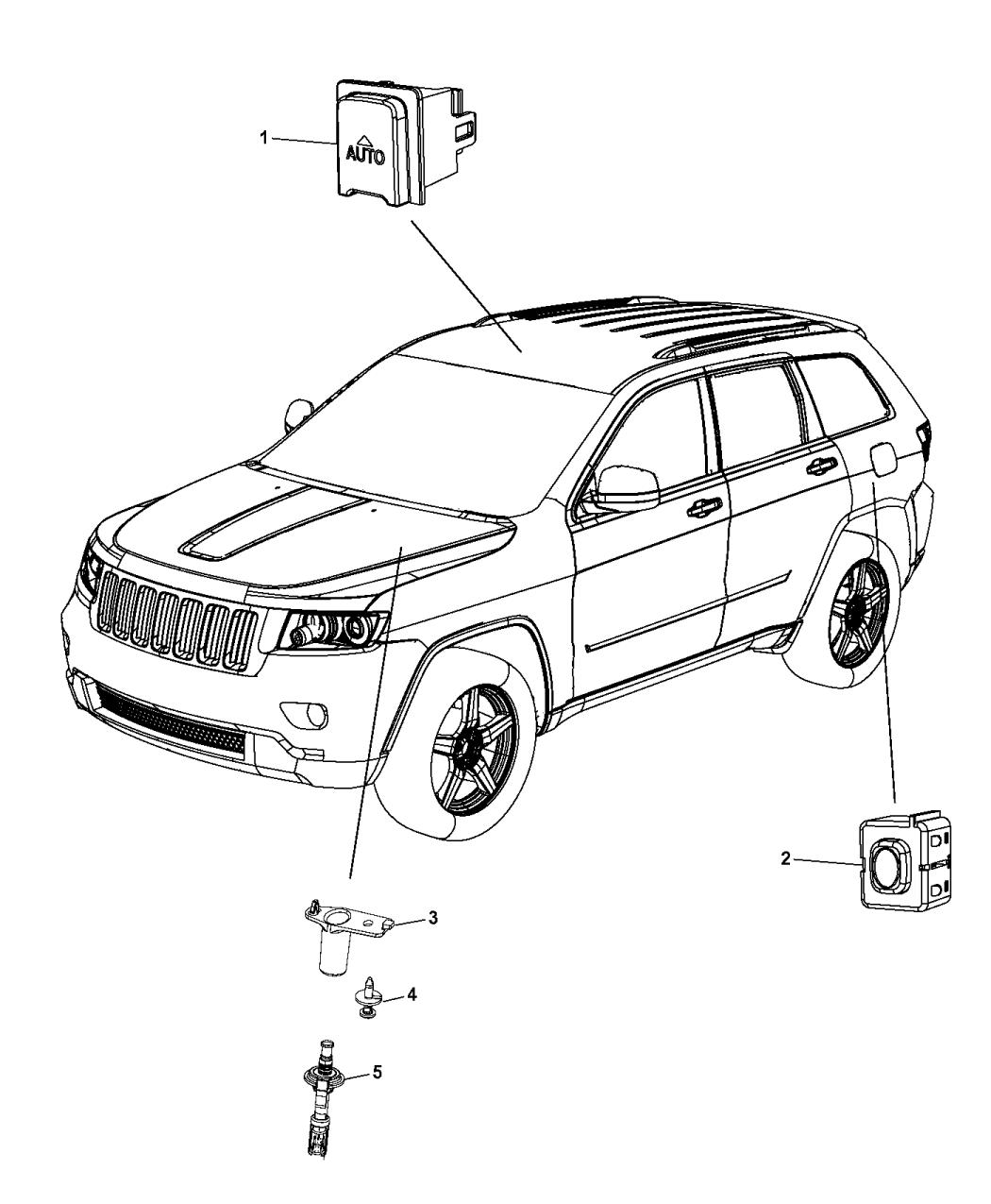 68251802aa genuine mopar plate striker 2006 jeep liberty engine diagram