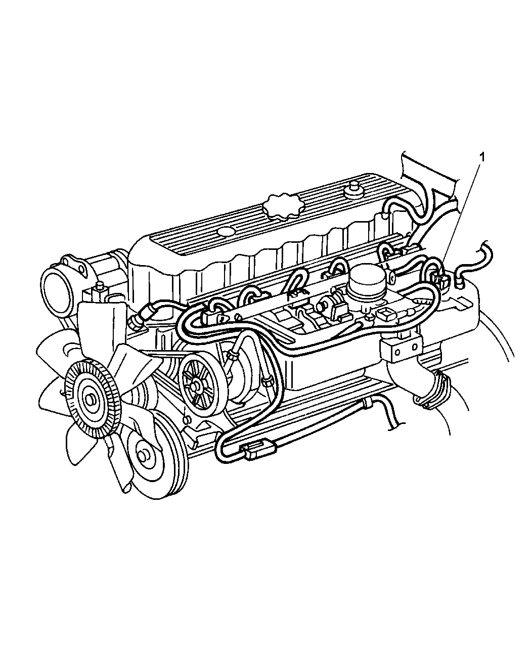 2002 jeep liberty wiring - engine & related parts