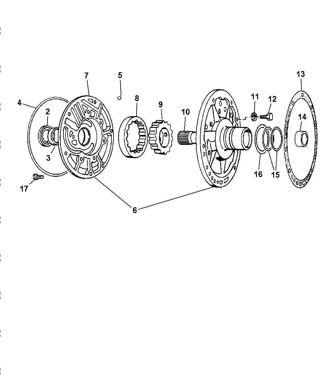 1997 jeep wrangler oil pump - thumbnail 1  2  automatic transmission