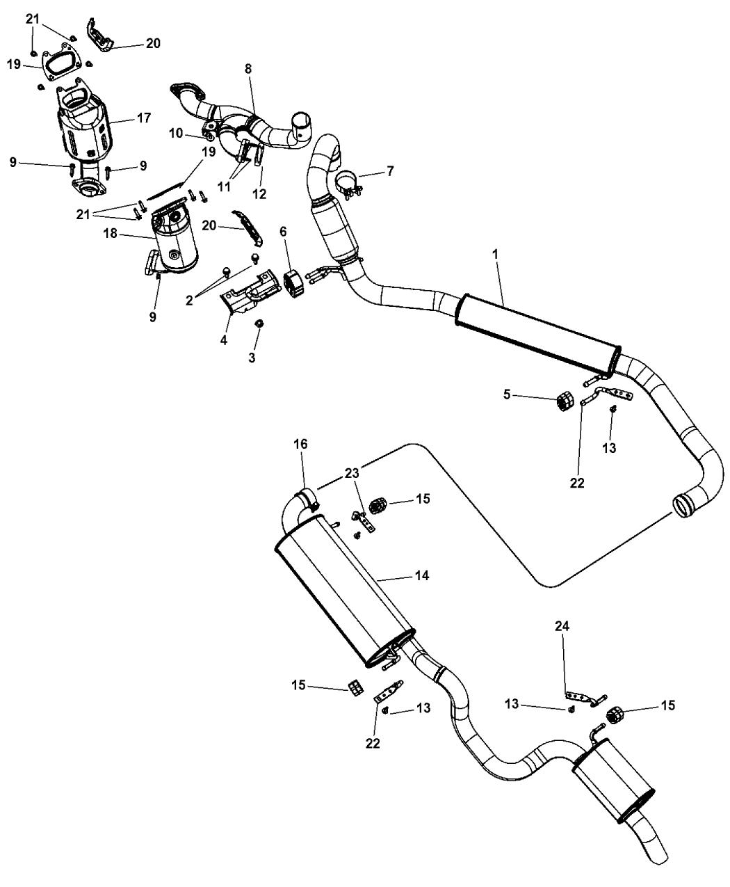 68036150AI - Genuine Chrysler Parts