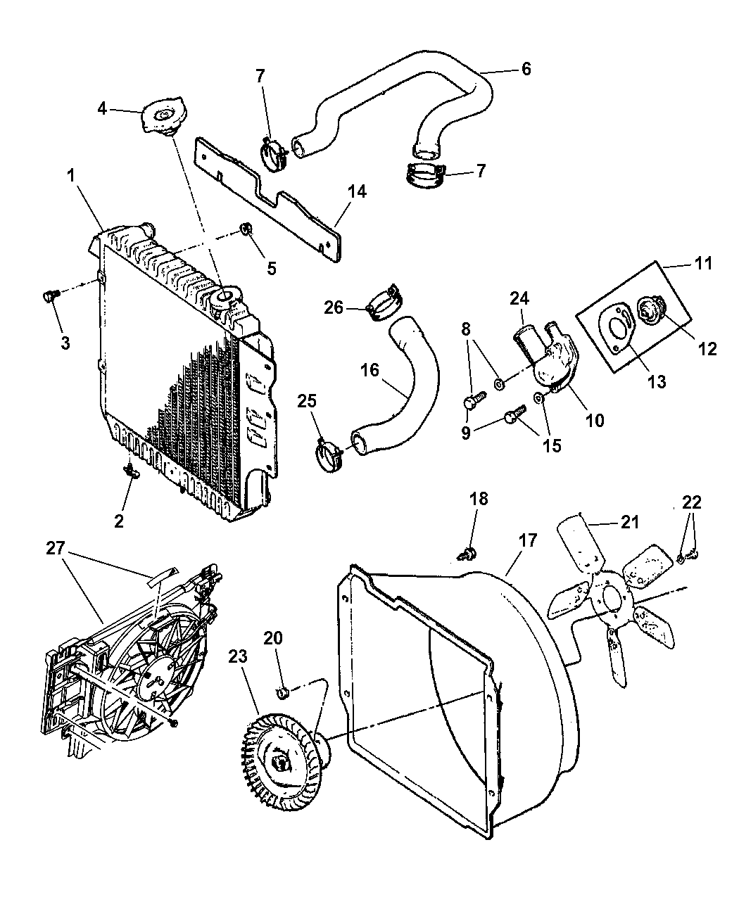 2006 Jeep Wrangler Parts Diagram