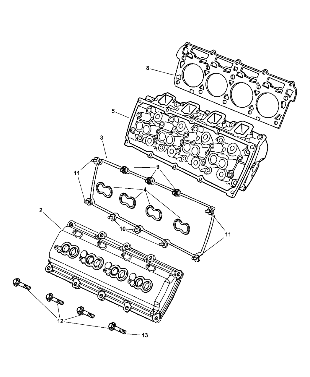 2003 dodge ram 2500 cylinder head