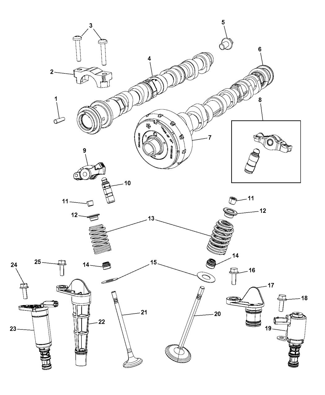 Genuine Chrysler PLUG-SOLENOID