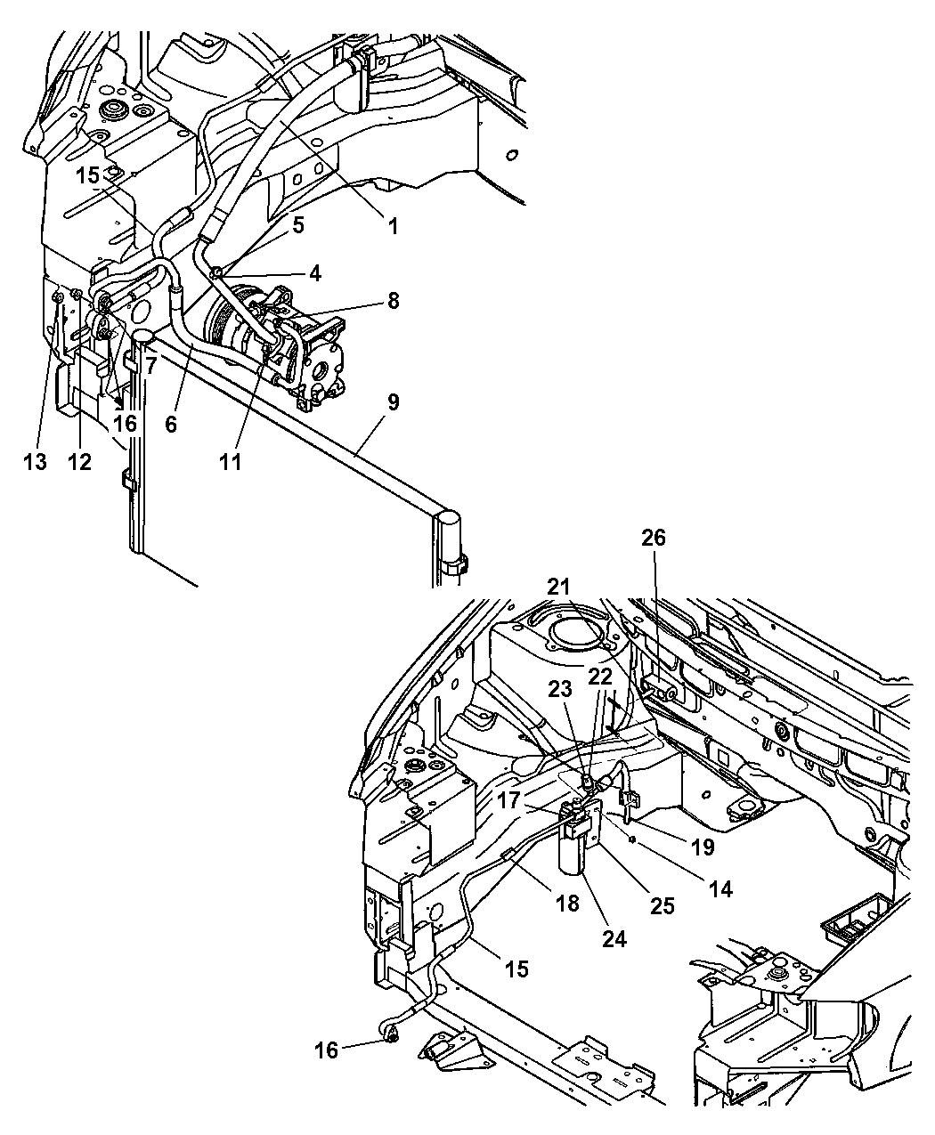 2003 Dodge Grand Caravan Engine Diagram