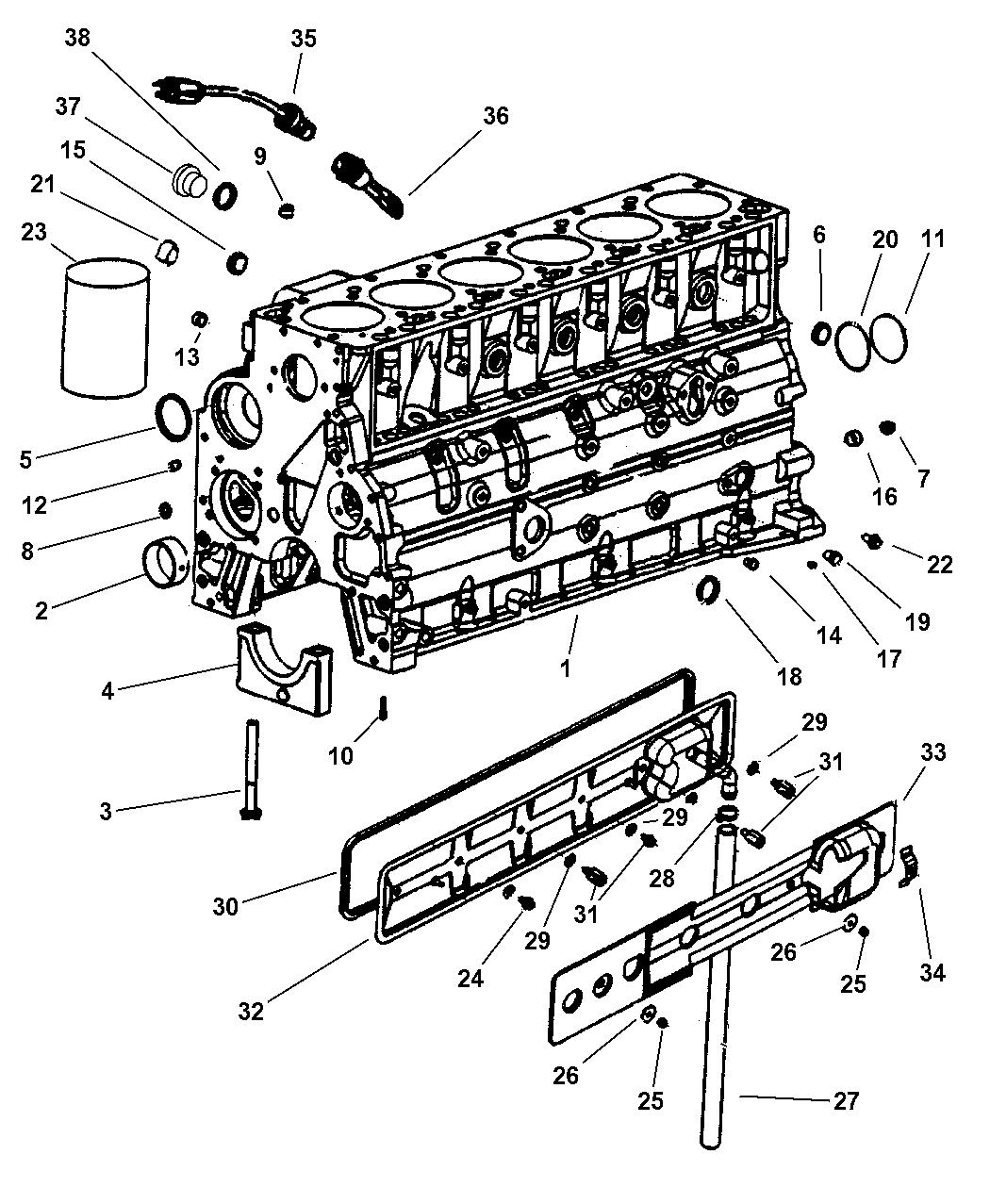 Genuine Dodge PLUG-CORE
