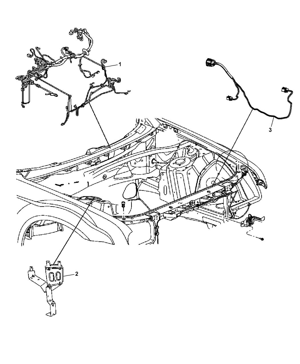68202713ab Genuine Mopar Headlamp To Dash 2014 Dodge Charger Wiring Diagram