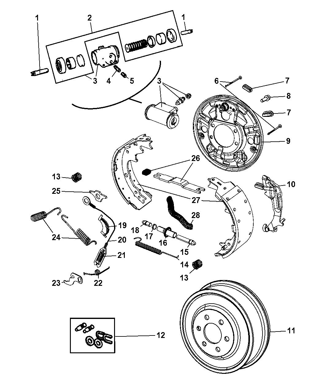 74f2d Dodge Brakes Diagram