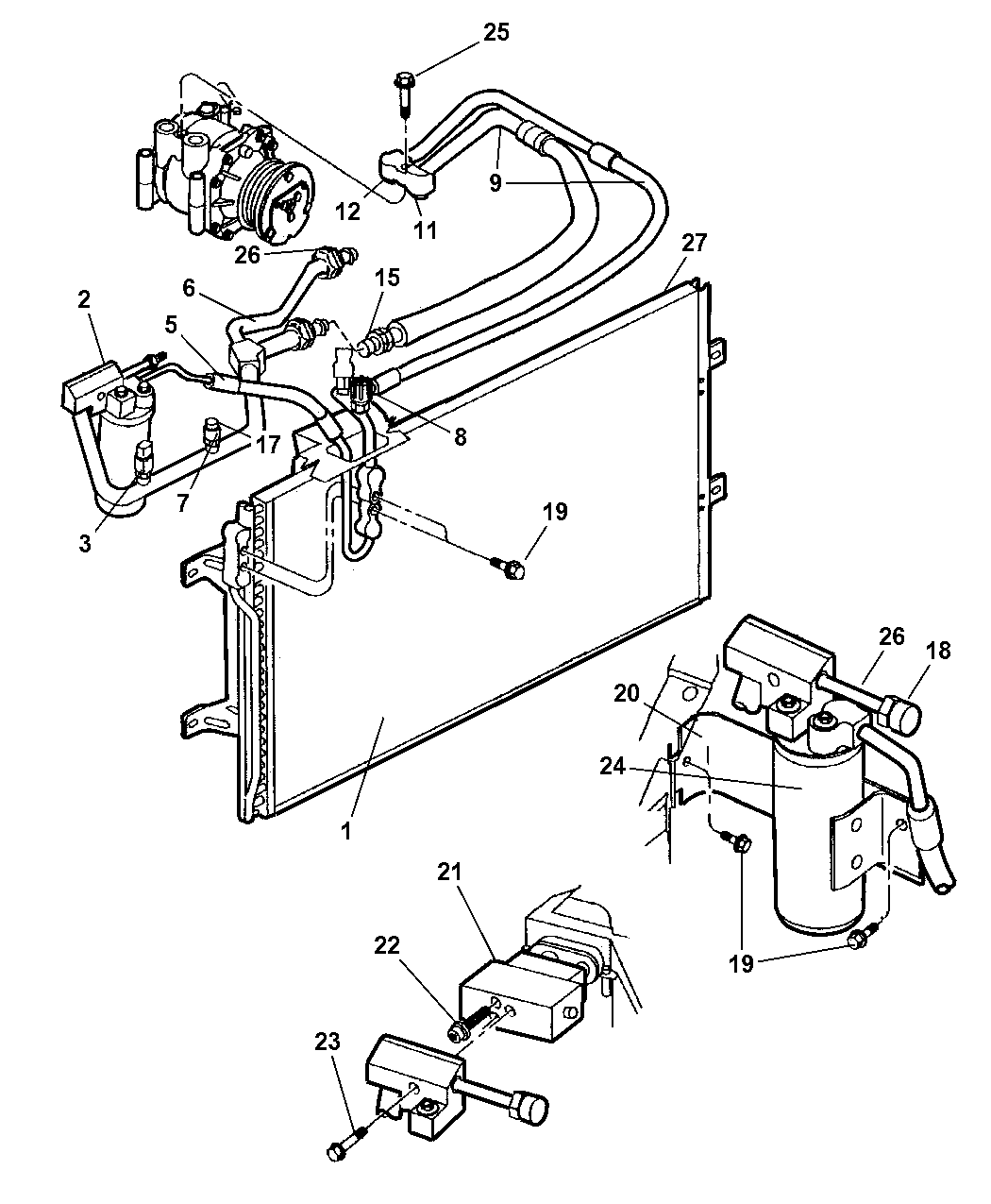 The Illustration Above Is A Simple Air Conditioning Schematic That I