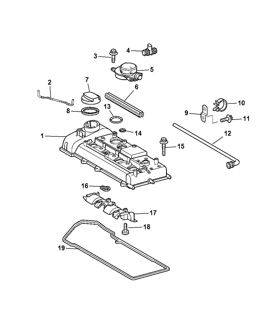 pt cruiser engine diagram front end