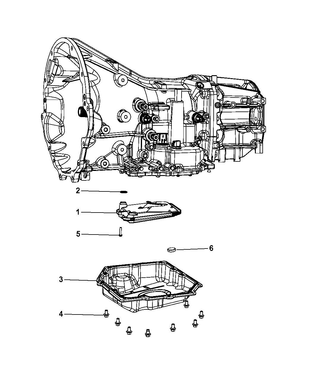 2010 jeep wrangler transmission oil filters - thumbnail 1