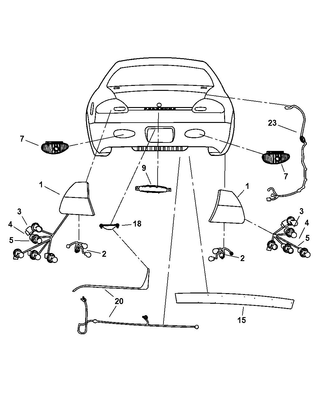 chrysler 300m special engine diagram