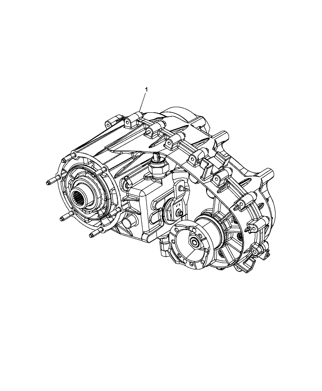 2014 Jeep Wrangler Transfer Case Assembly - Mopar Parts Giant