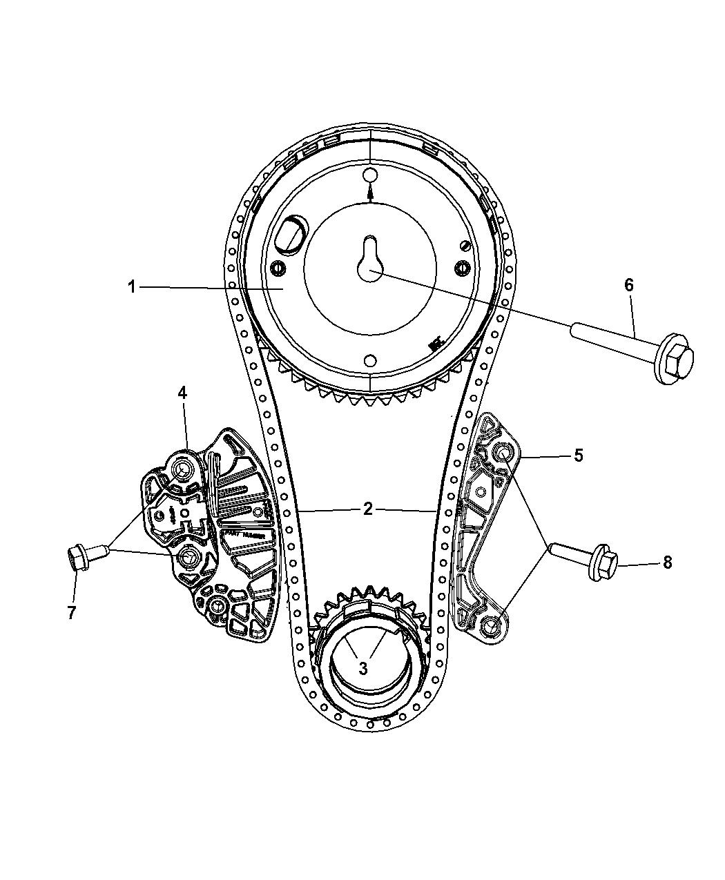 Genuine Mopar SPROCKET-CAMSHAFT