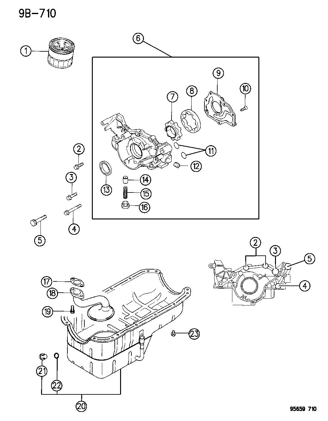1995 dodge avenger engine oiling - thumbnail 1