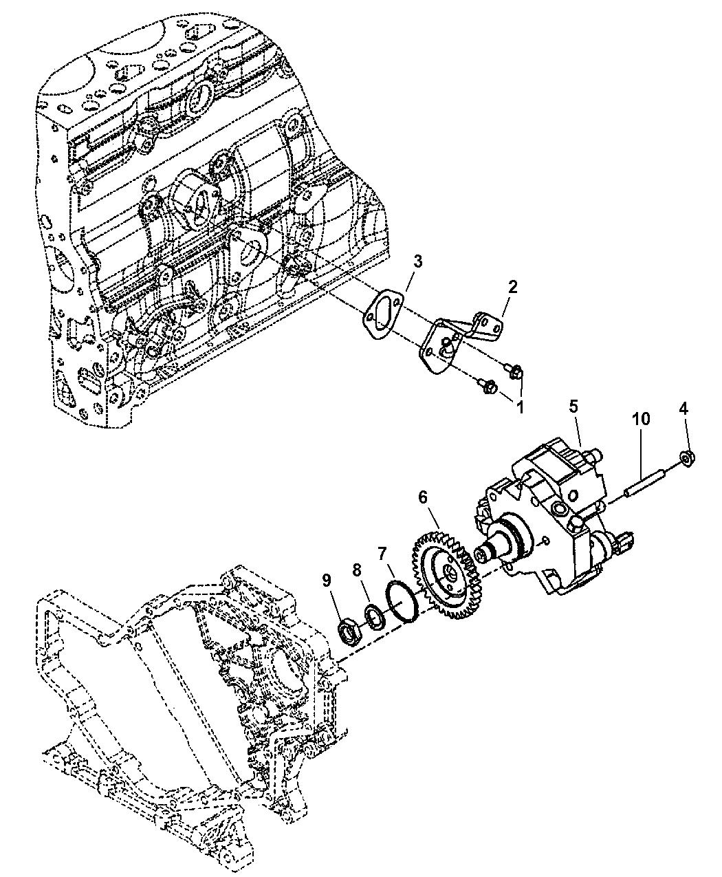 2004 Dodge Ram 2500 Fuel Injection Pump - Mopar Parts Giant