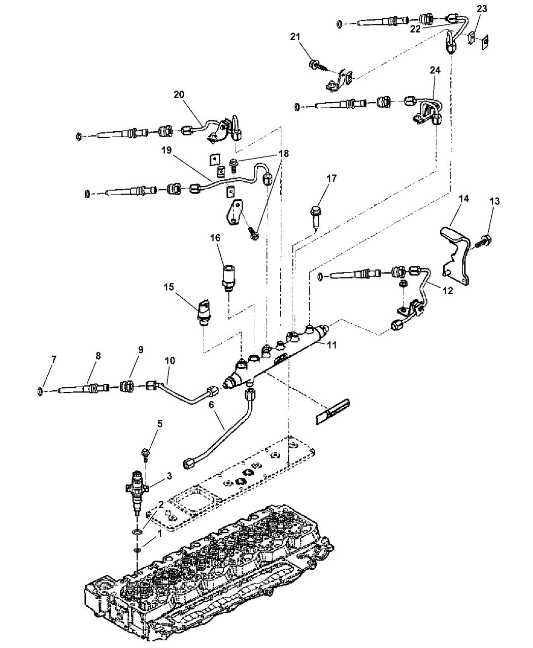 General Fuel Pressure Diagram : Aa genuine mopar sensor fuel pressure