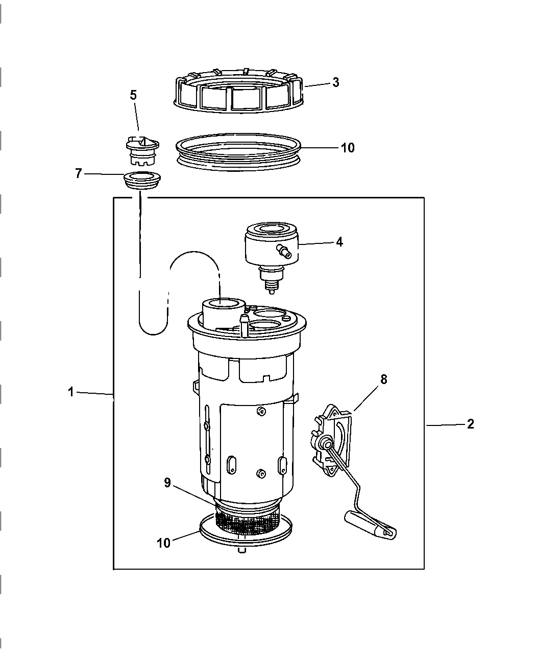 2001 Dodge Ram 1500 Fuel Pump