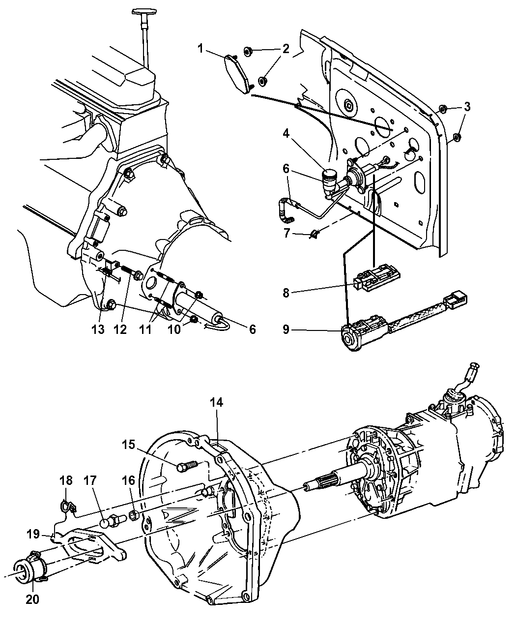 jeep wrangler 40 engine diagram