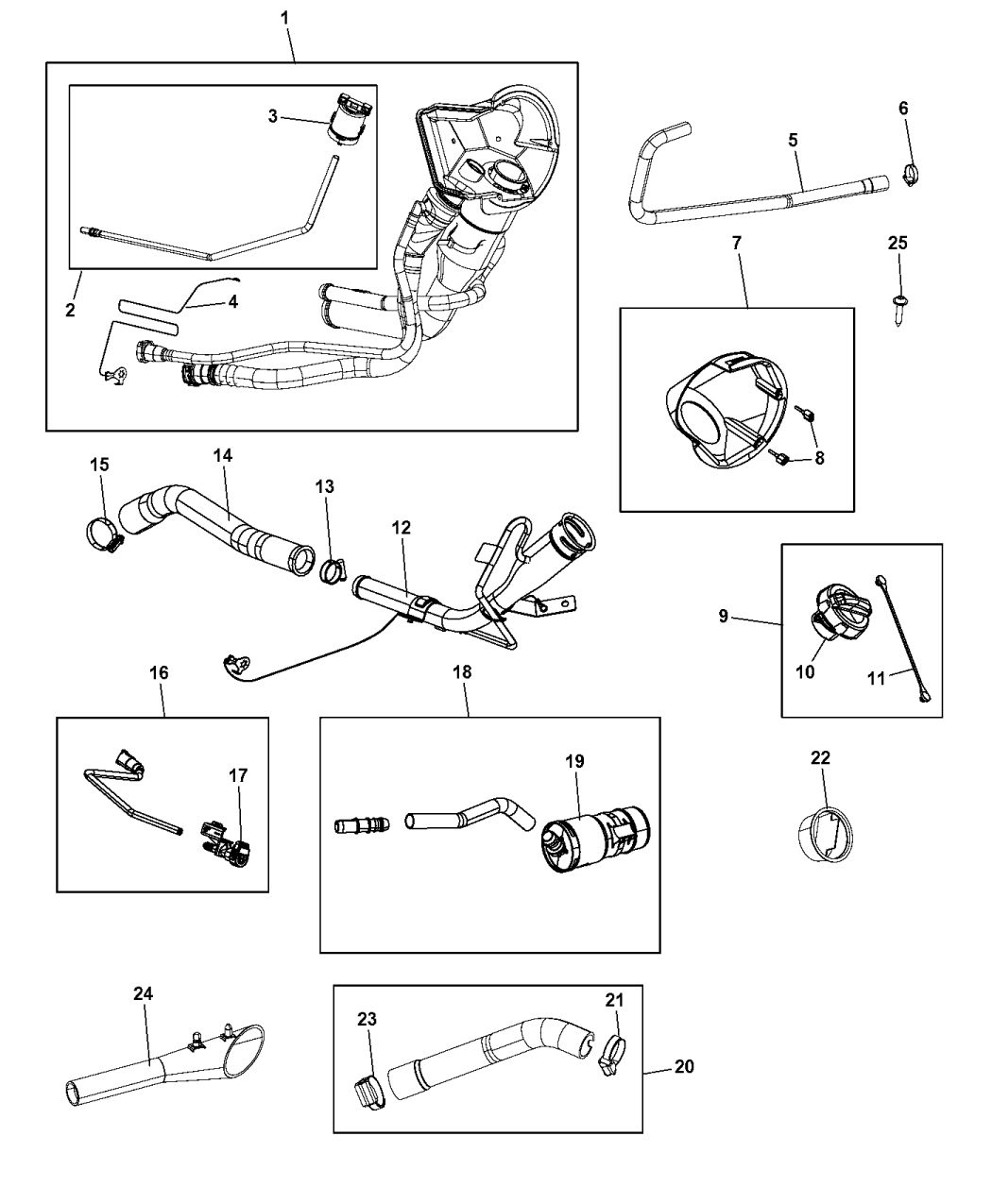 dodge ram 1500 fuel system diagram 52030379ab genuine mopar cap fuel filler  52030379ab genuine mopar cap fuel filler