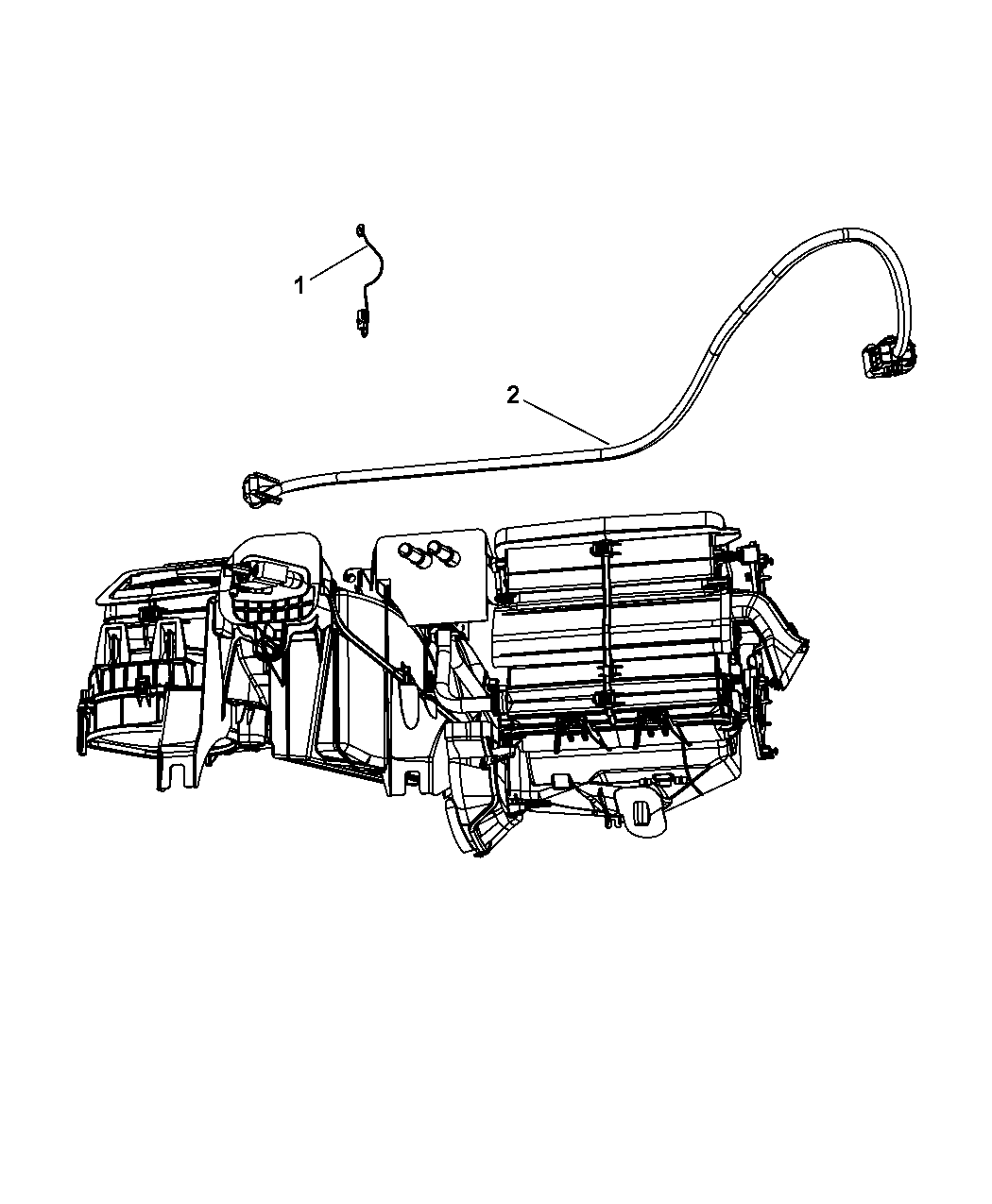 2009 Jeep Liberty Wiring - A/C & Heater - Mopar Parts Giant