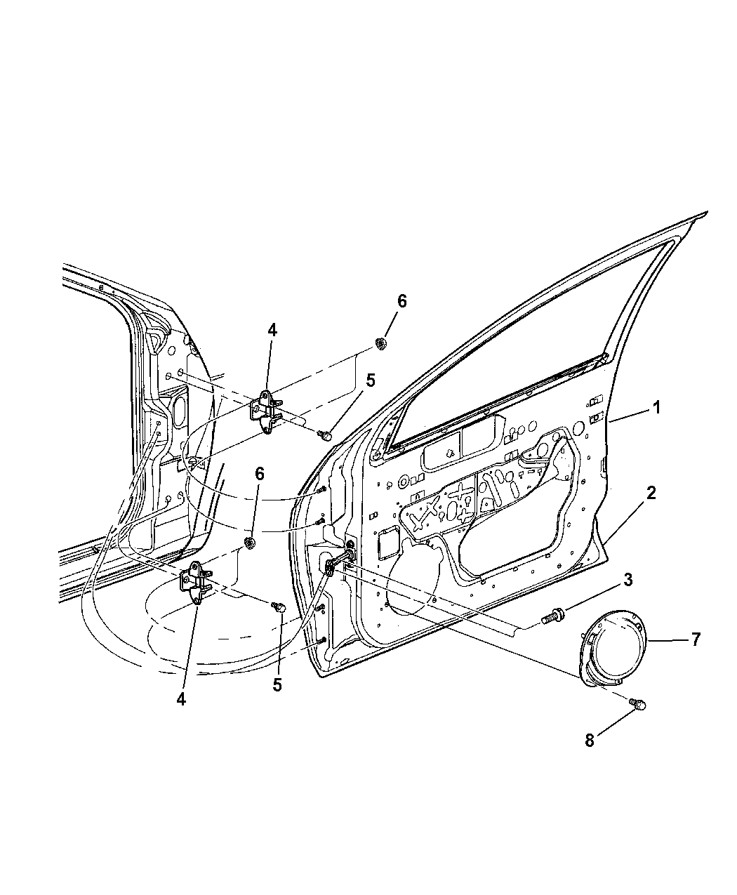 Mopar 5056030AD Power Window Motor