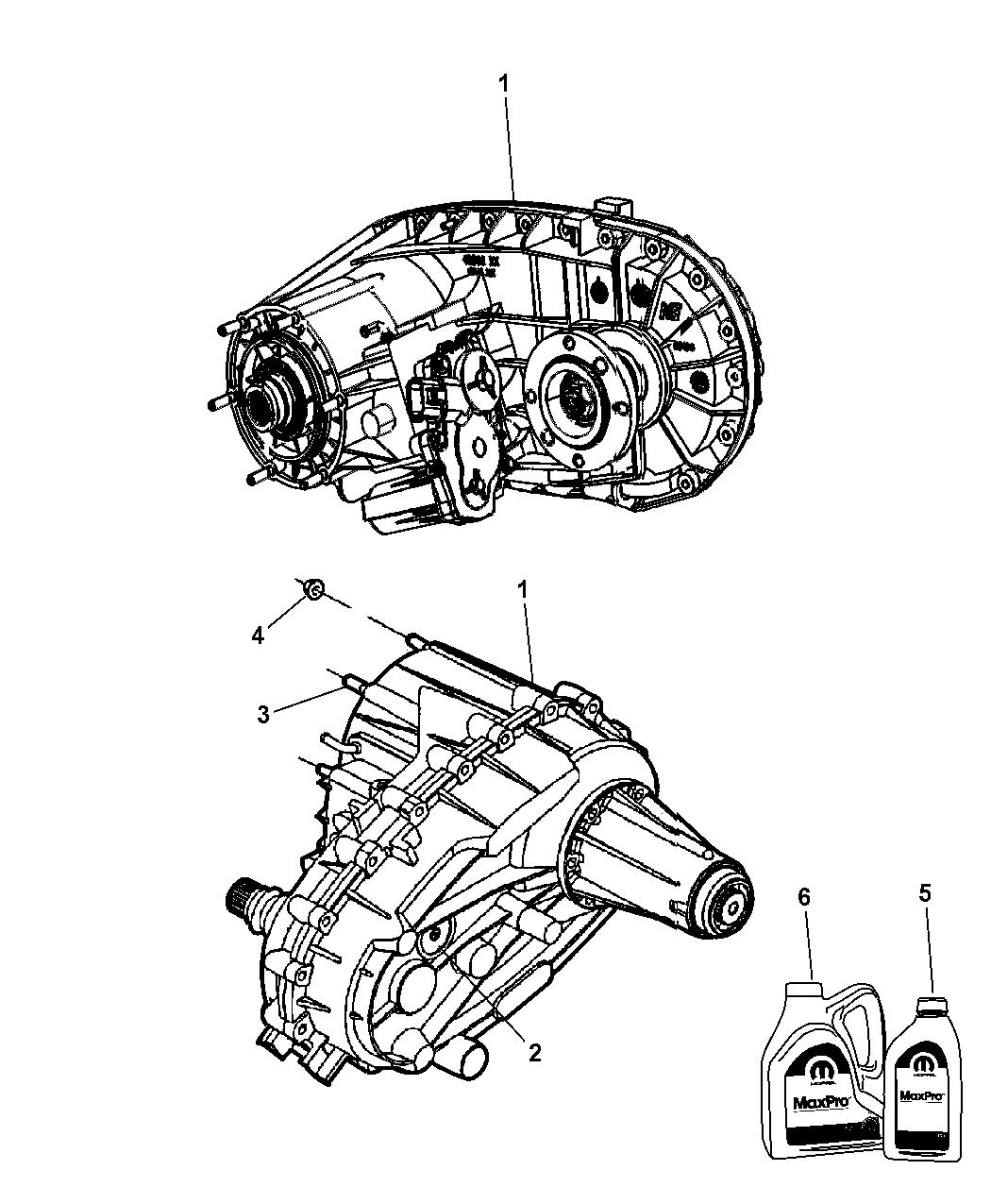 Genuine Dodge T/CASE-NVG273