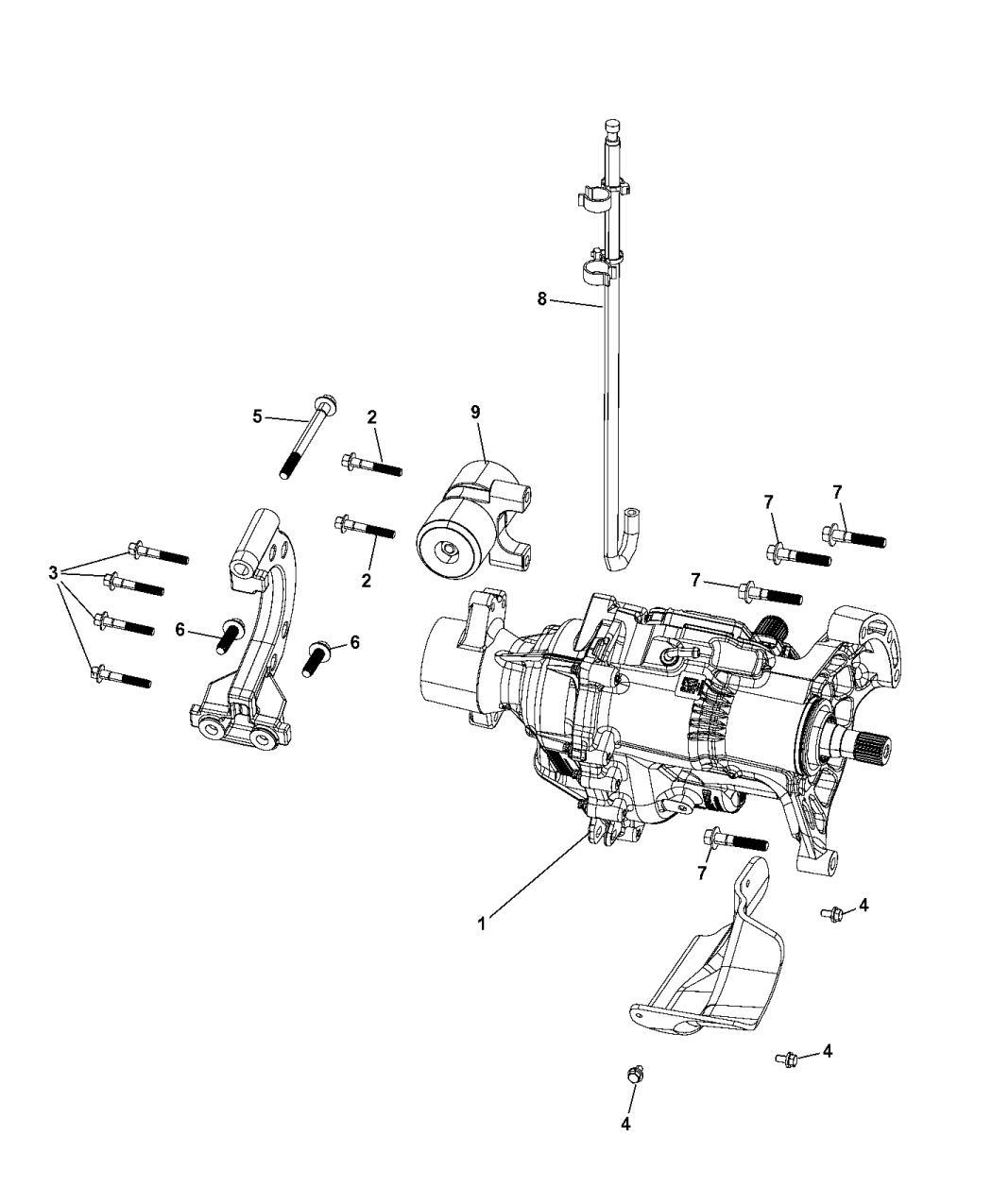 2014 Jeep Cherokee Power Transfer Unit - Mopar Parts Giant