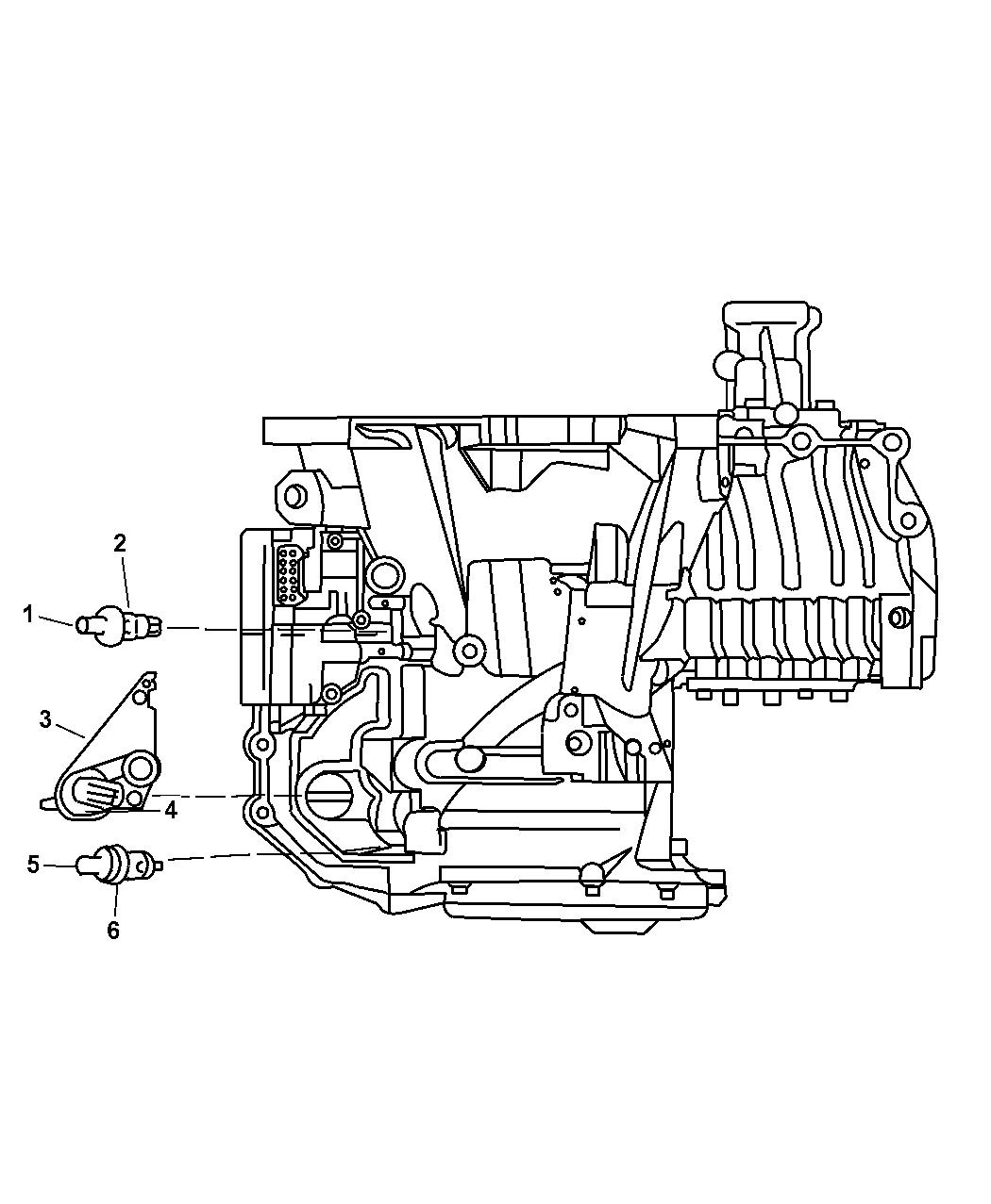 2004 Chrysler Pacifica Sensors Transmission Mopar Parts Giant