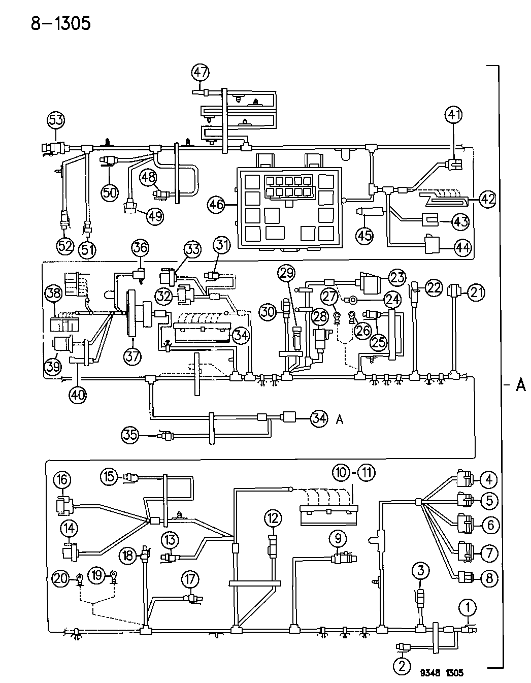 1995 Chrysler Lh Wiring Schematic