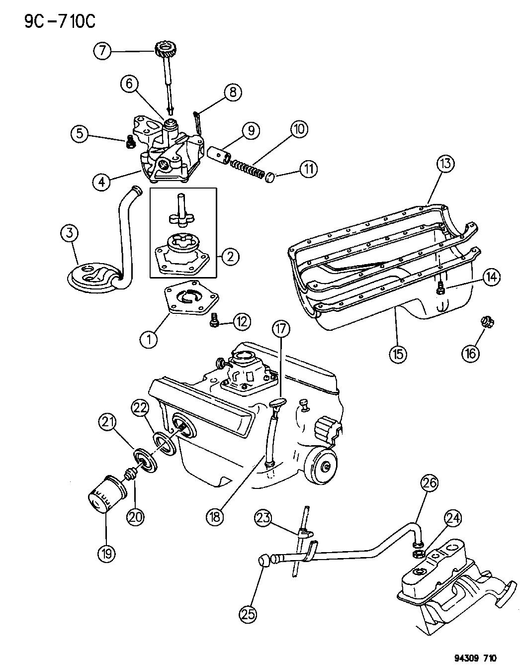 53020062 Genuine Mopar Tube Engine Oil Indicator Dodge 318 Fuel System Diagram 1995 Ram 2500 Oiling
