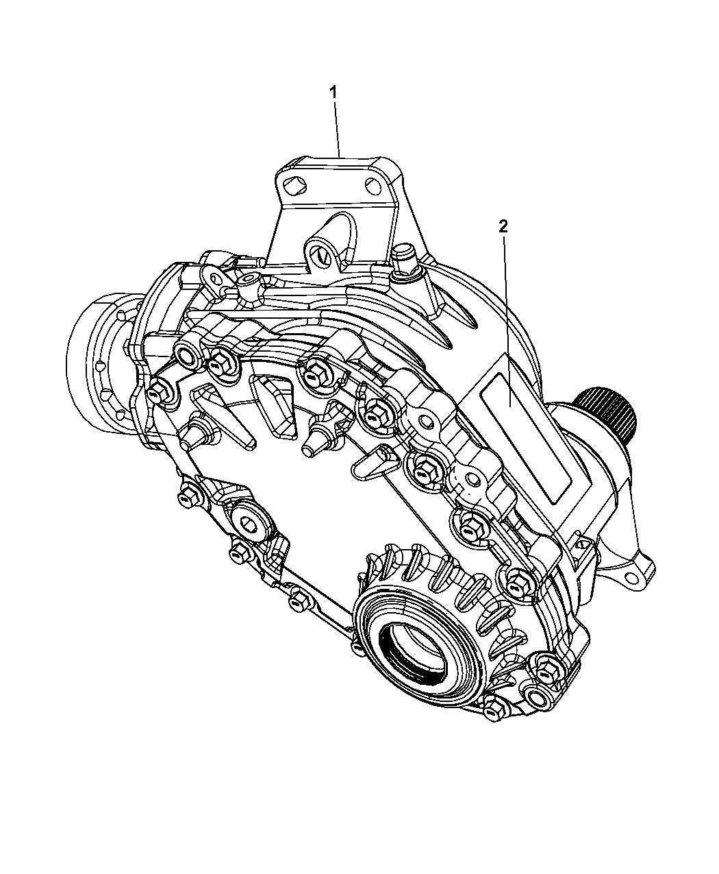 2008 Chrysler Pacifica Power Transfer Unit  U0026 Identification