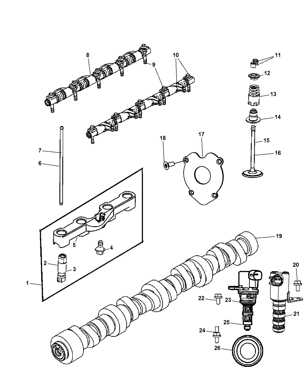 Genuine Mopar TAPPET-HYDRAULIC ROLLER DEACTIVATI