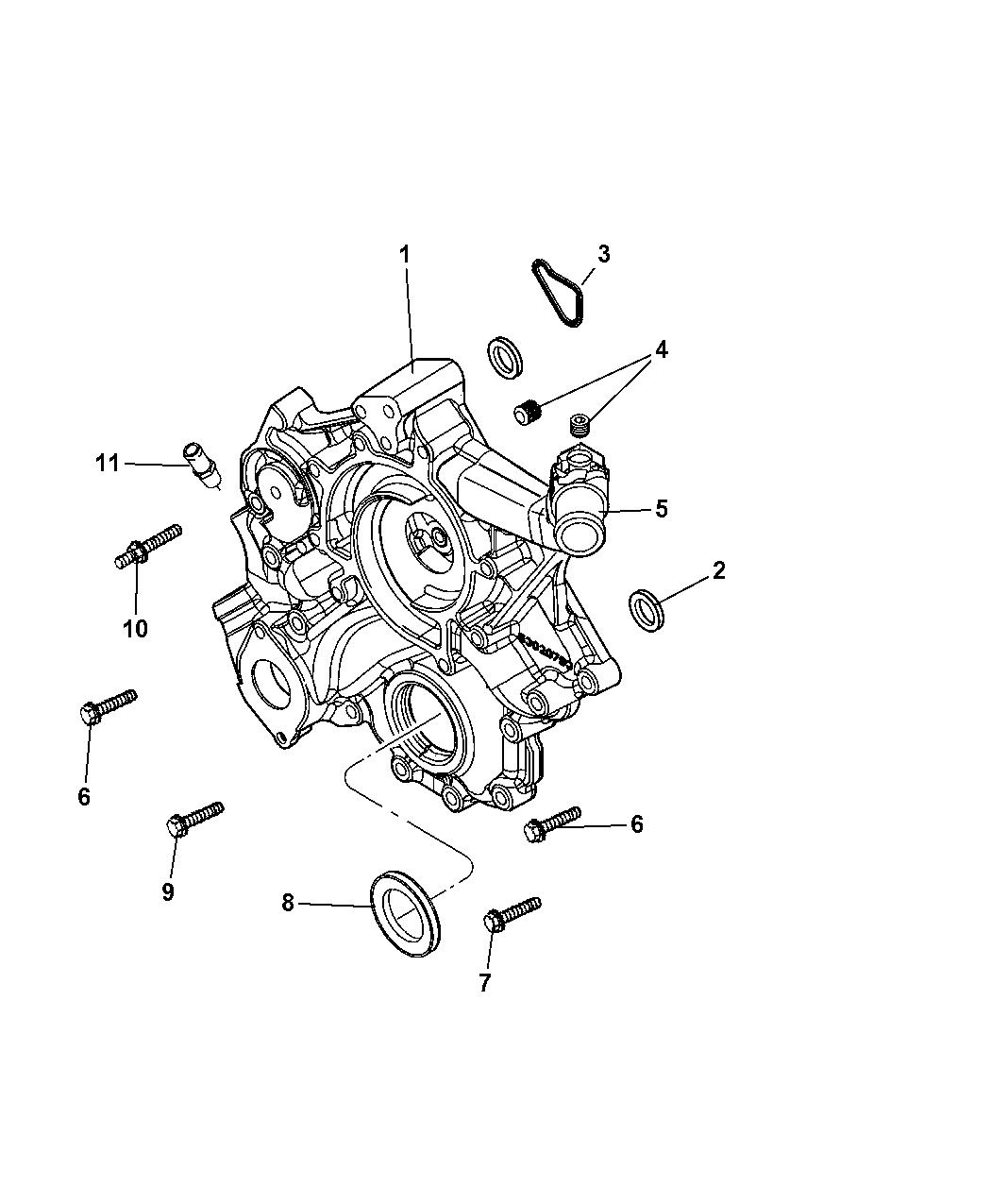 2007 dodge durango alternator