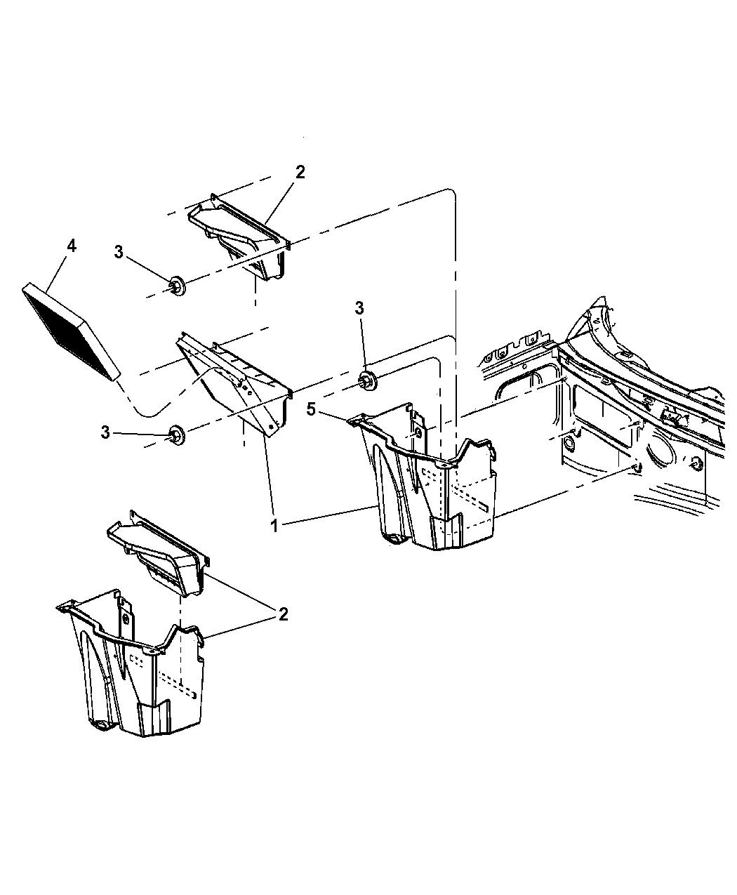 2005 dodge magnum cabin air filter mopar parts giant. Black Bedroom Furniture Sets. Home Design Ideas