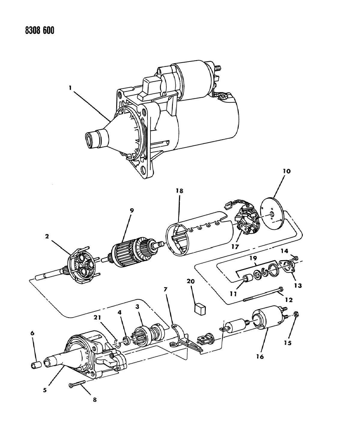 1988 Dodge Dakota Wiring - Diagrams Catalogue