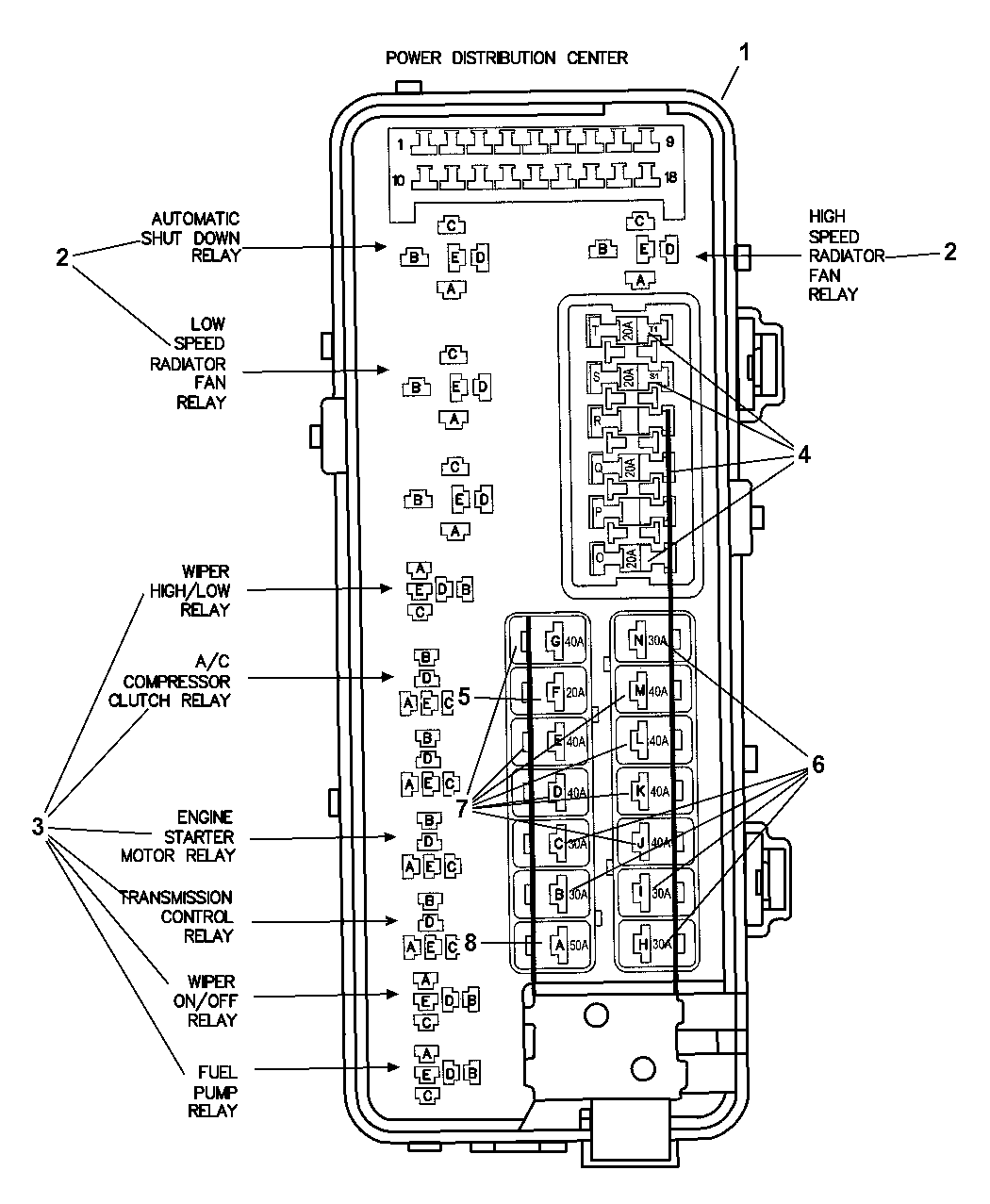 Wiring Diagram For Radiator Fan Relay