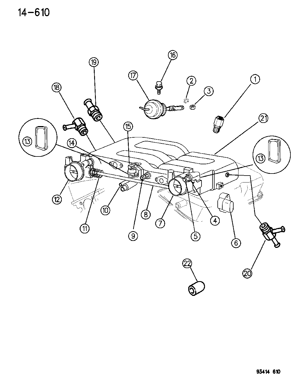 91 chrysler throttle body diagram tpi throttle body diagram