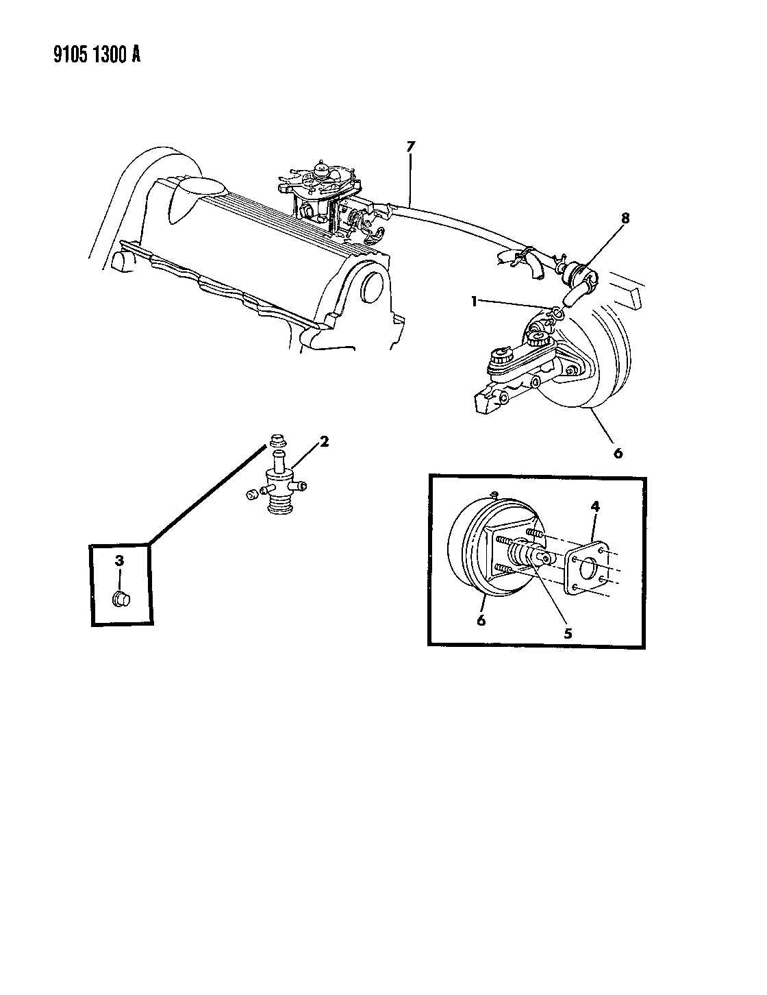 1989 Chrysler Lebaron Gtc Booster Power Brake Steering Diagram Wiring