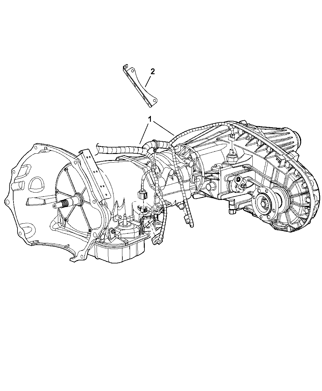 4801410ae genuine dodge wiring transmission