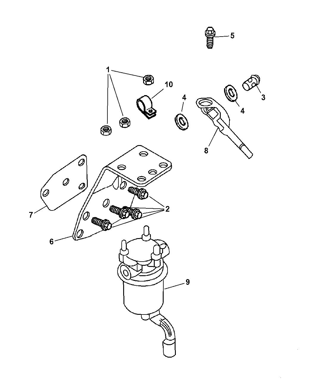Genuine Mopar GASKET-ENGINE BLOCK COVER
