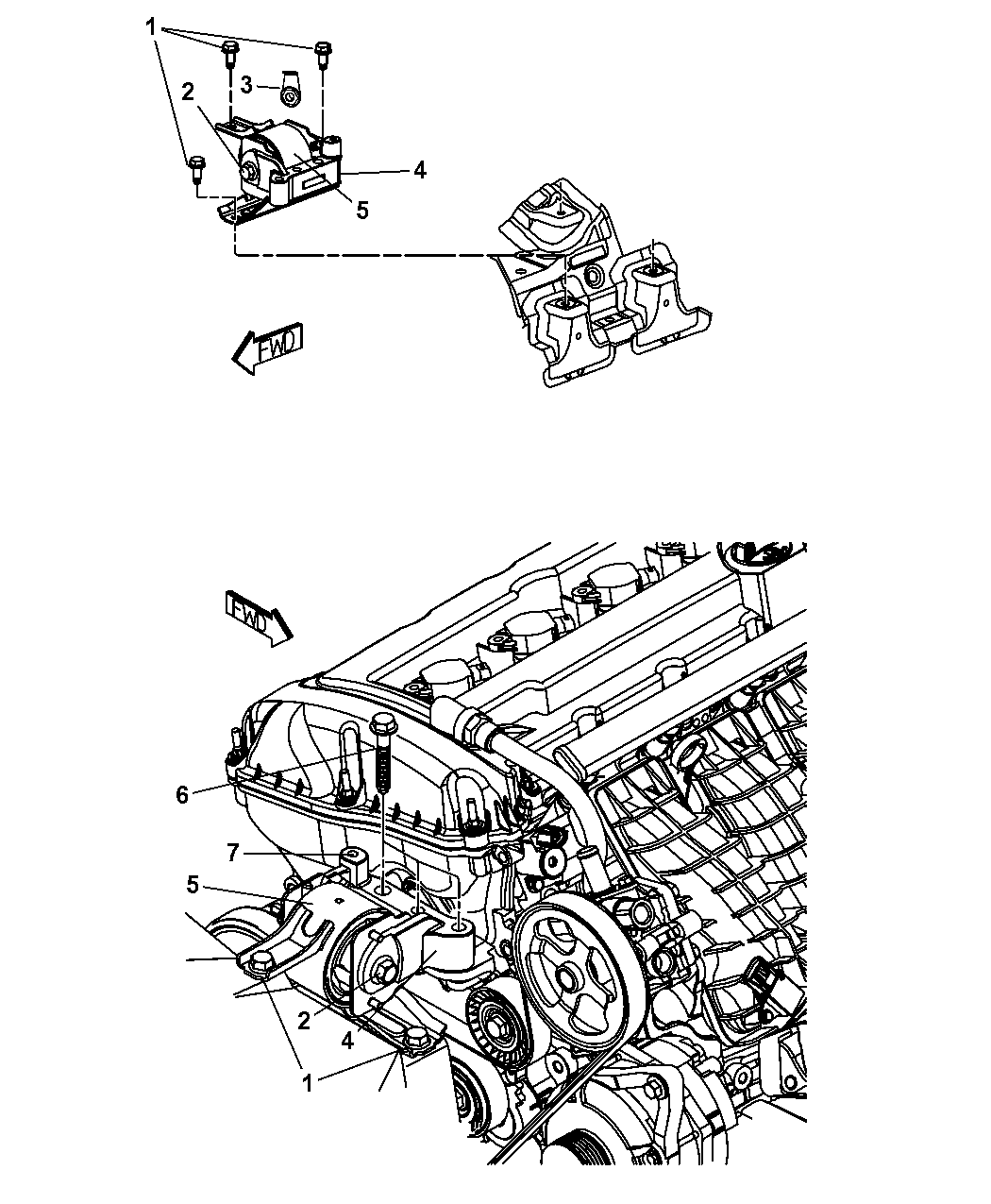 mopar 5105489ag 2012 Ford Transit Connect Engine Diagram