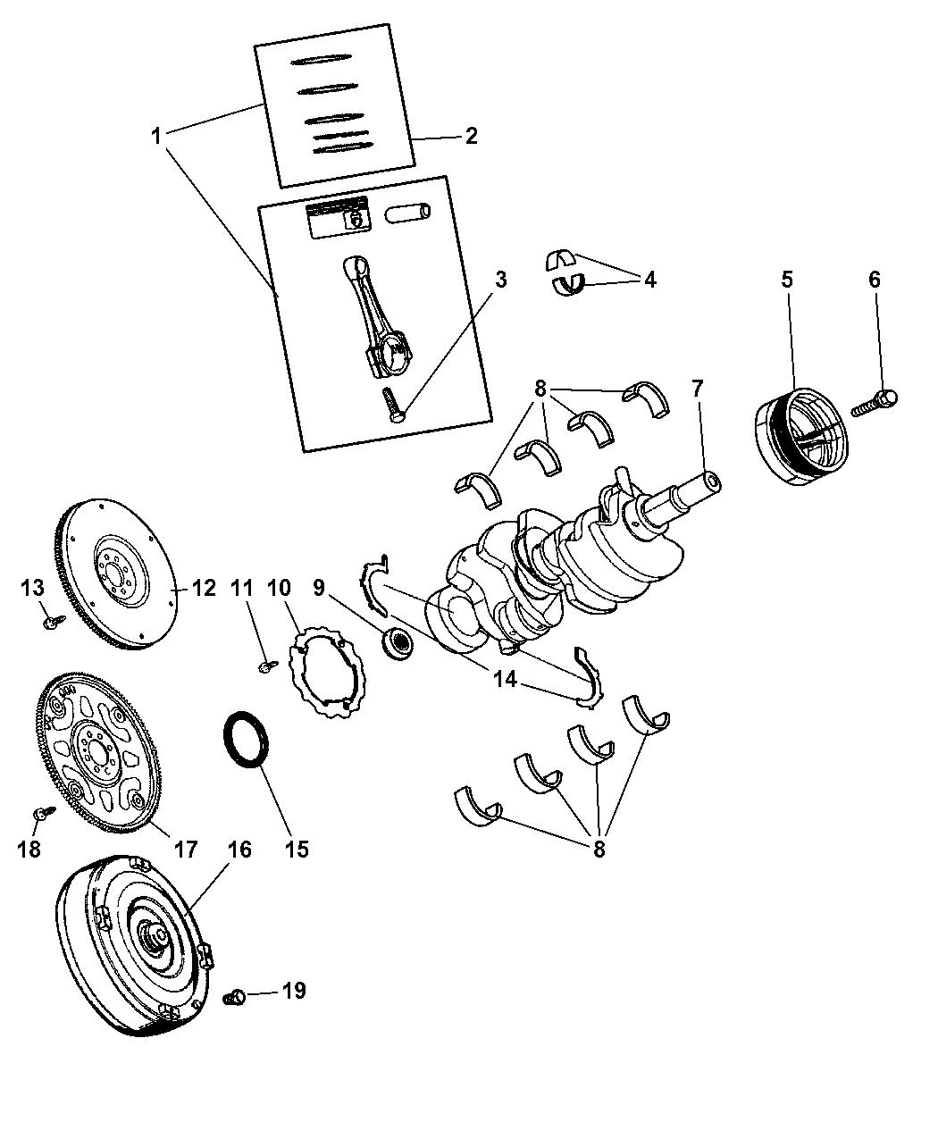2006 Jeep Commander Engine Diagram