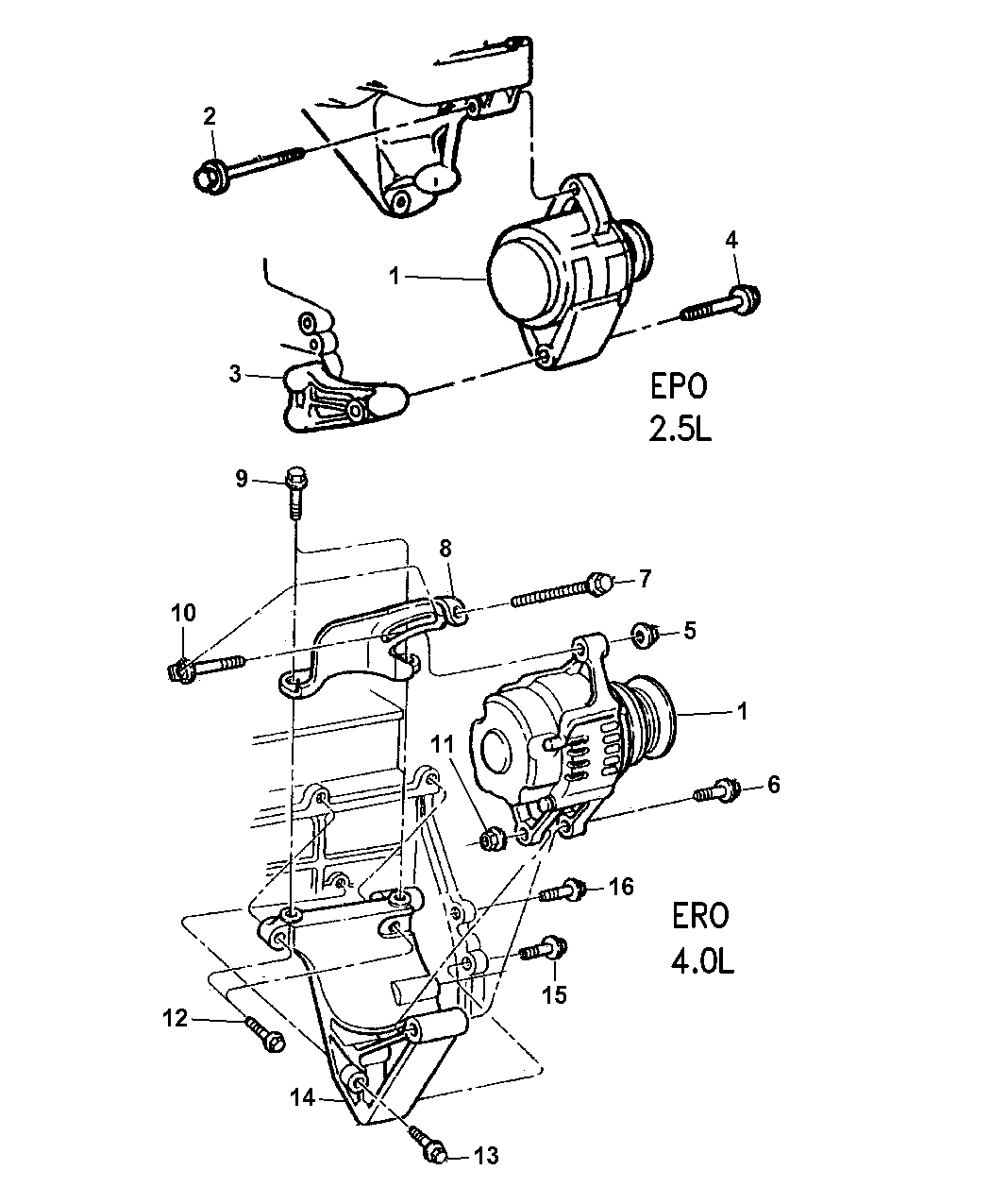 1999 Jeep Cherokee Alternator Wiring Diagram - Wiring Diagram